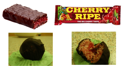 Commercial and my cherry ripes