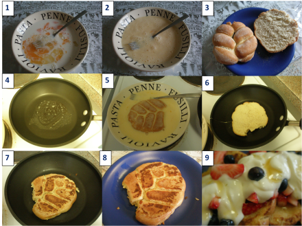French toast method