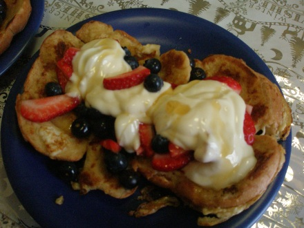 French toast for breakfast anyone ?