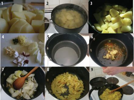 Potato palya method