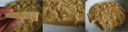 Good version of Mysore pak