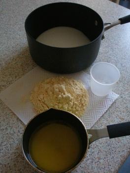 Ingredients for Mysore pak