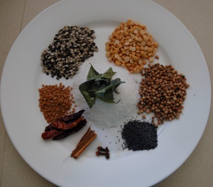 Spice mix ingredients
